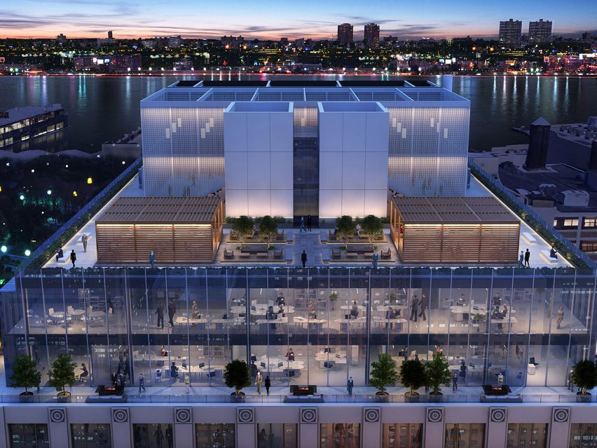 Office renovation by Rafael Viñoly Architects