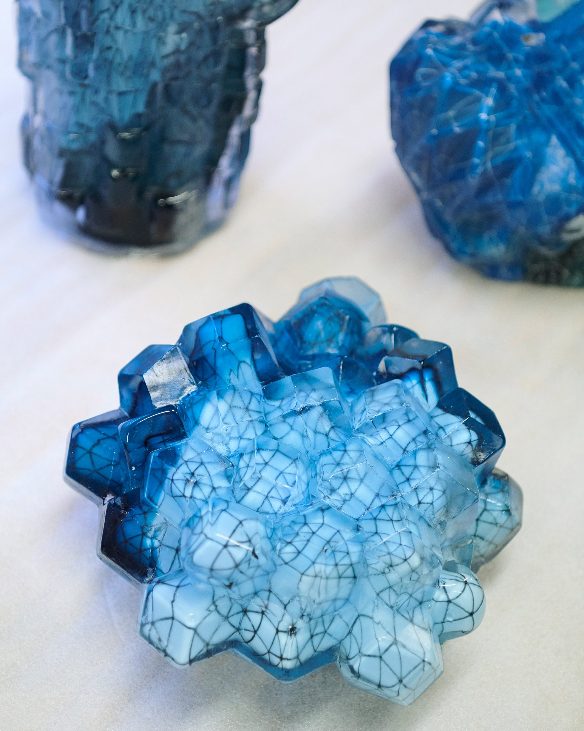 Architectural Glass Fantasies by Stine Bidstrup in The Mindcraft Project