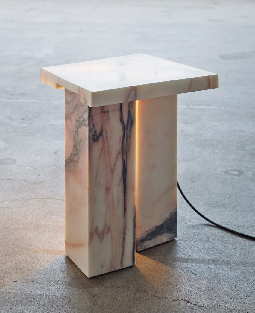 Bedside Table by Bahraini-Danish in the Mindcraft Project exhibition
