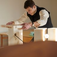 Bahraini-Danish designer assembles Bedside Table