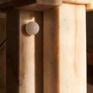 Bedside Table by Bahraini-Danish with hidden light