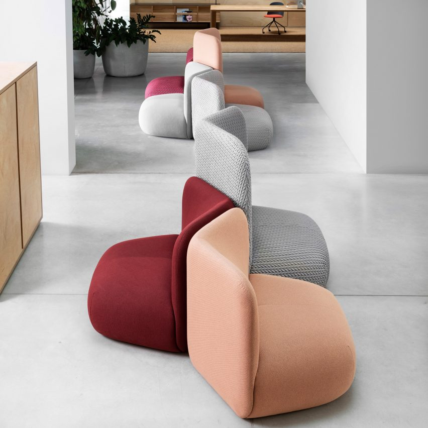 Botera seating collection by E-ggs for Miniforms
