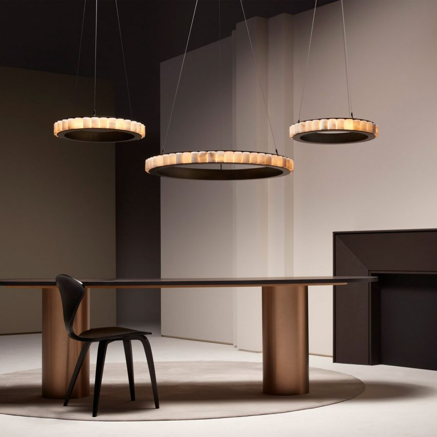 Avalon chandelier by CTO Lighting