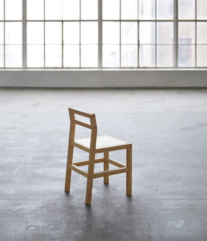 Chair 02 by Archival Studies in the Mindcraft exhibition