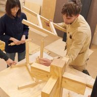 Archival Studies designers assemble their Chair 02