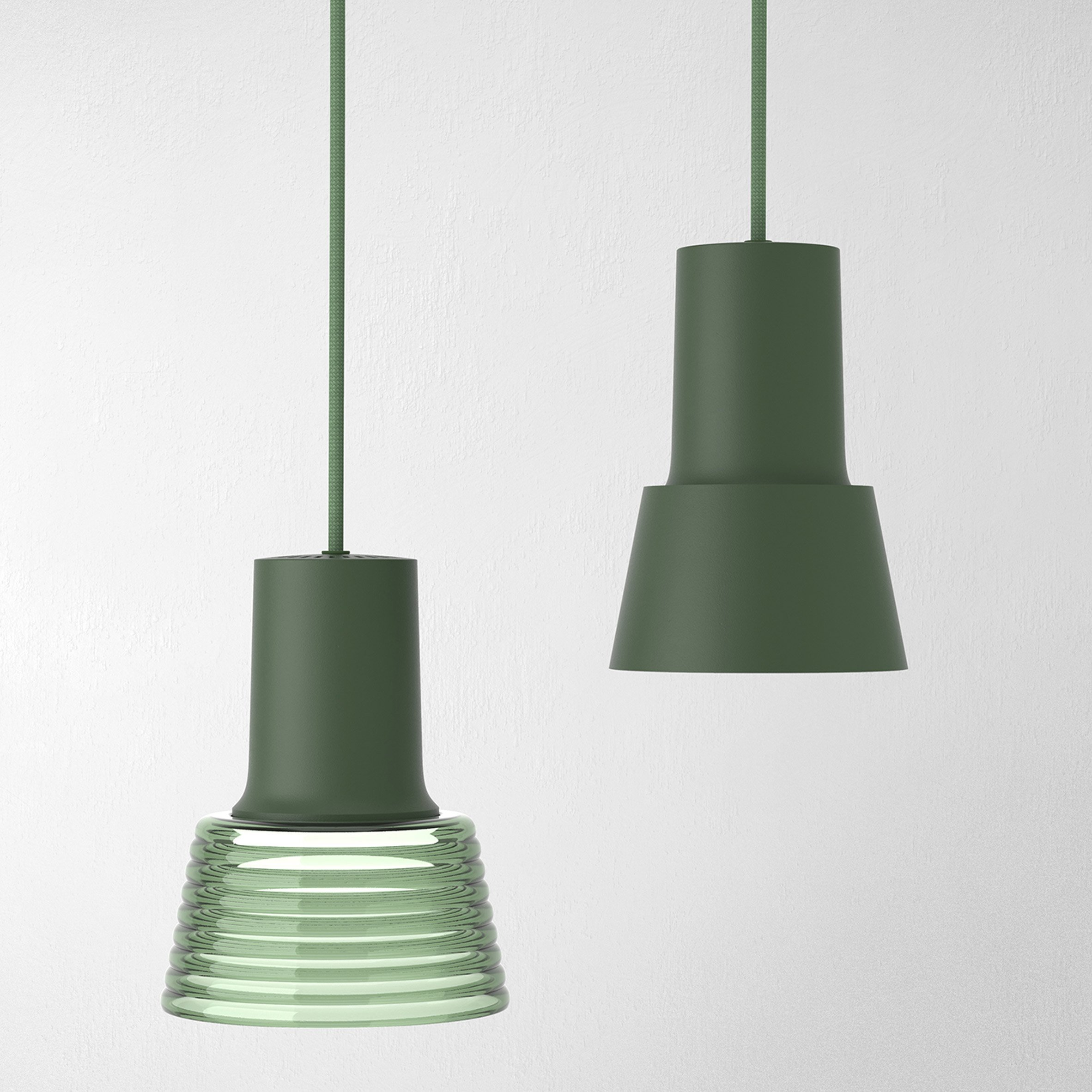 Compose Rail pendant by Jens Fager for Zero Lighting