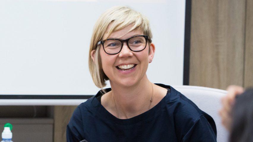 Dezeen Awards 2021 sustainability head judge Katie Treggiden
