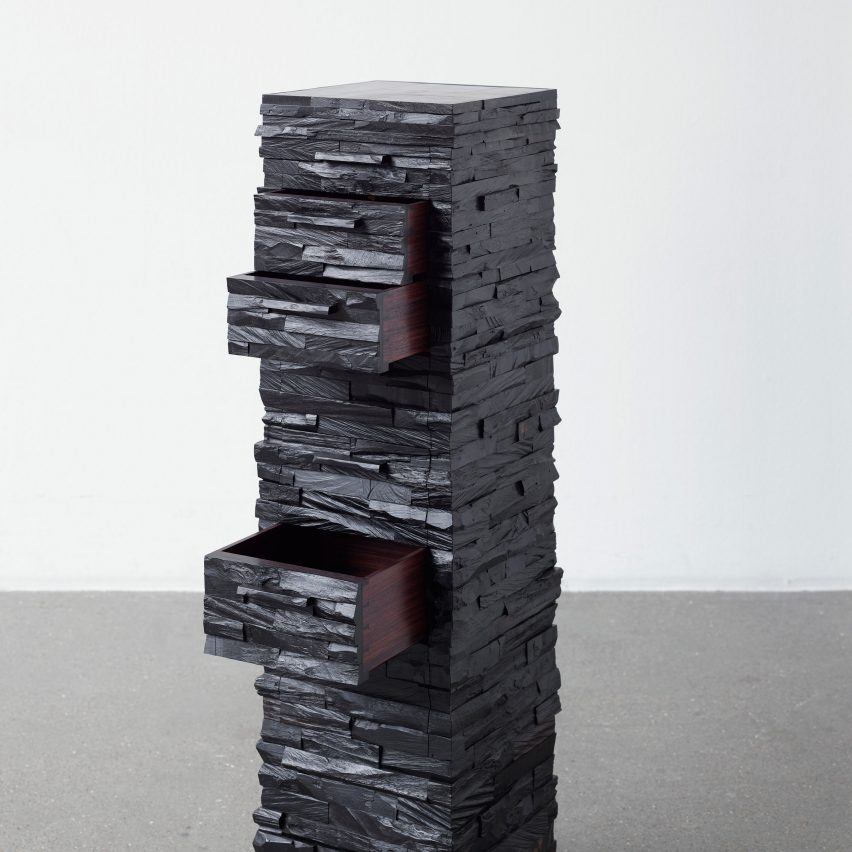 Ebano cabinet by Rasmus Fenhann for The Mindcraft Project