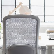 HAG SoFi office chair with mesh back by Aleksander Borgenhov and Frost Produkt for Flokk