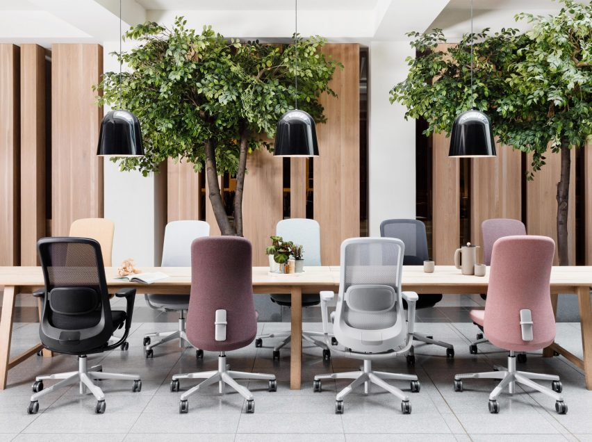 HAG SoFi office chairs by Aleksander Borgenhov and Frost Produkt for Flokk