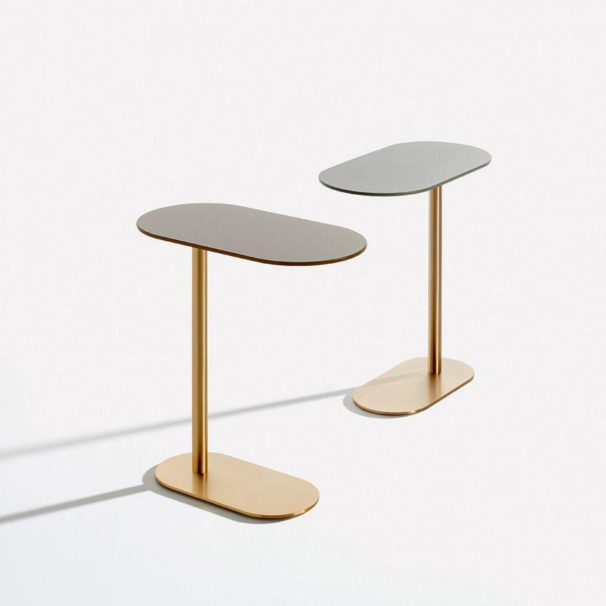 Corvetto side table by Raffaella Mangiarotti for IOC Project Partners