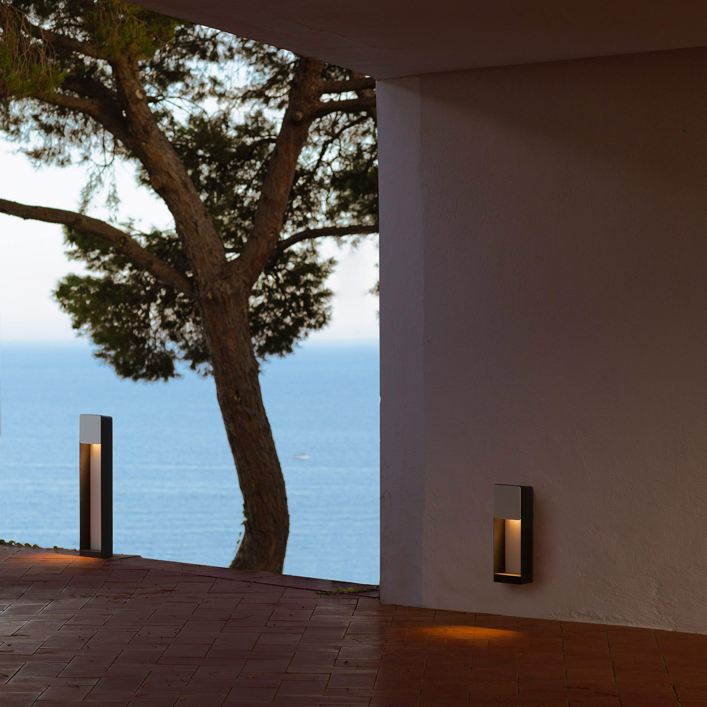 Lab outdoor lights by Francesc Rifé for Marset