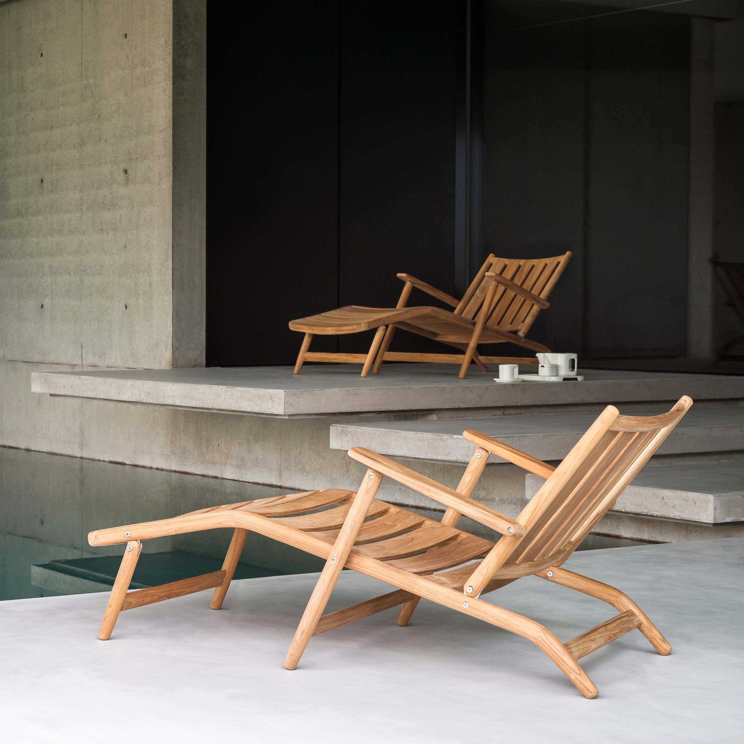 Levante relaxing collection by Piero Lissoni for Roda