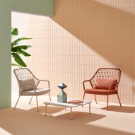 Panarea outdoor chairs by CMP Design for Pedrali