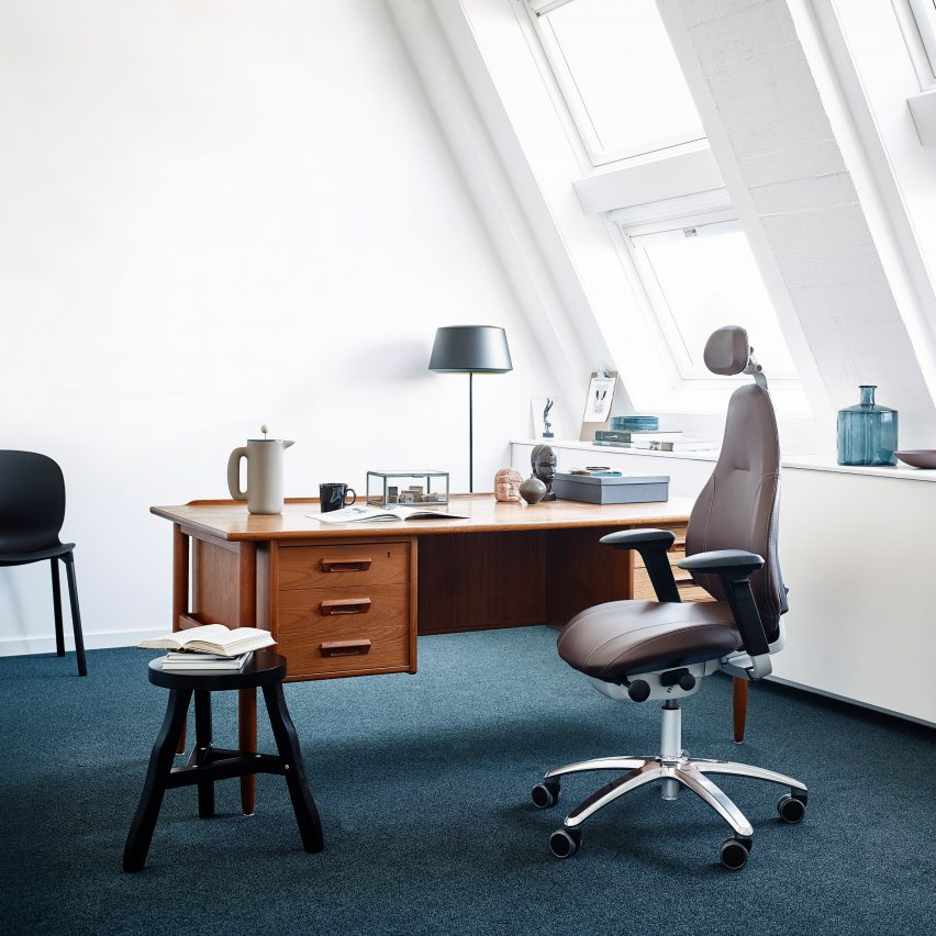 RH Mereo desk chair by Flokk and Veryday