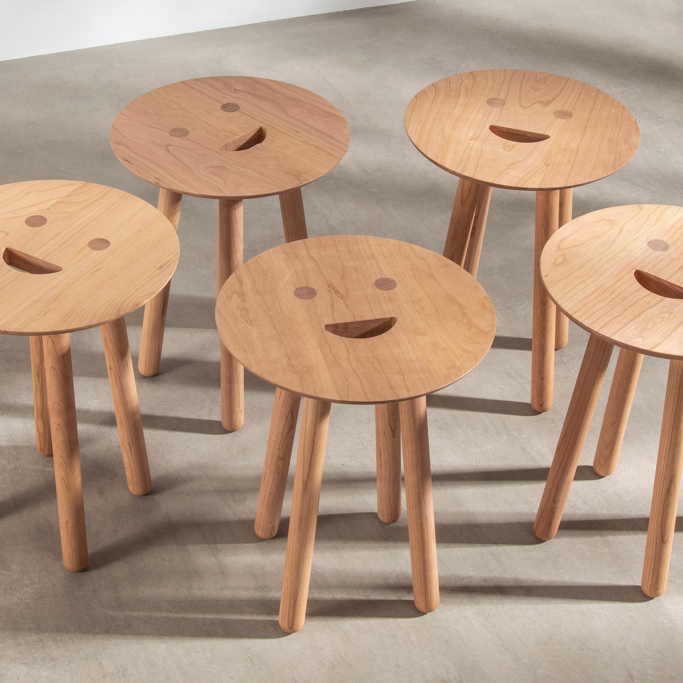 Smile Stool by Jaime Hayon for Benchmark