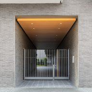Entrance into the courtyard