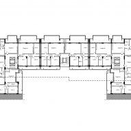 Viale Giulini Housing plan