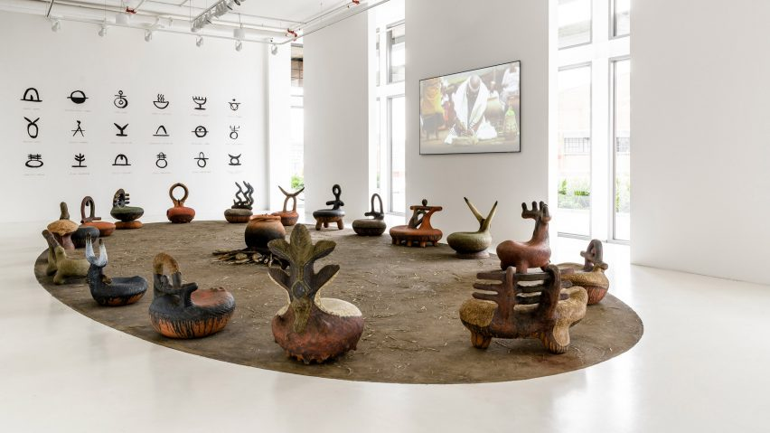 The iThongo exhibition on show at Southern Guild