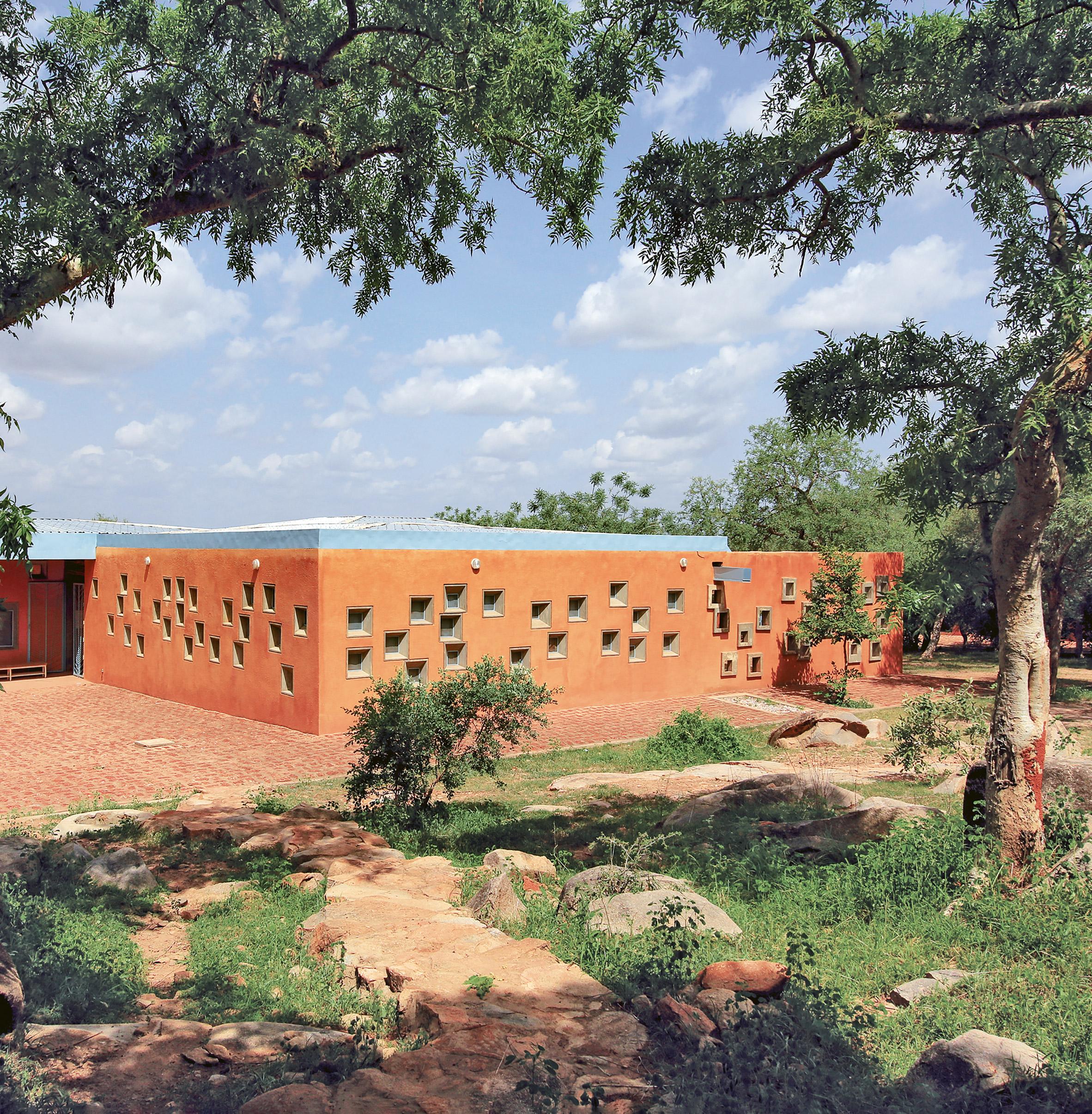 Centre de Santé et de Promotion Sociale by Kéré Architecture