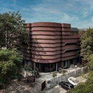 "Architecture Discipline wraps New Delhi office in ""protective armour"""