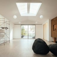 The white-walled studio of Peter Randall-Page