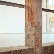 A column detail