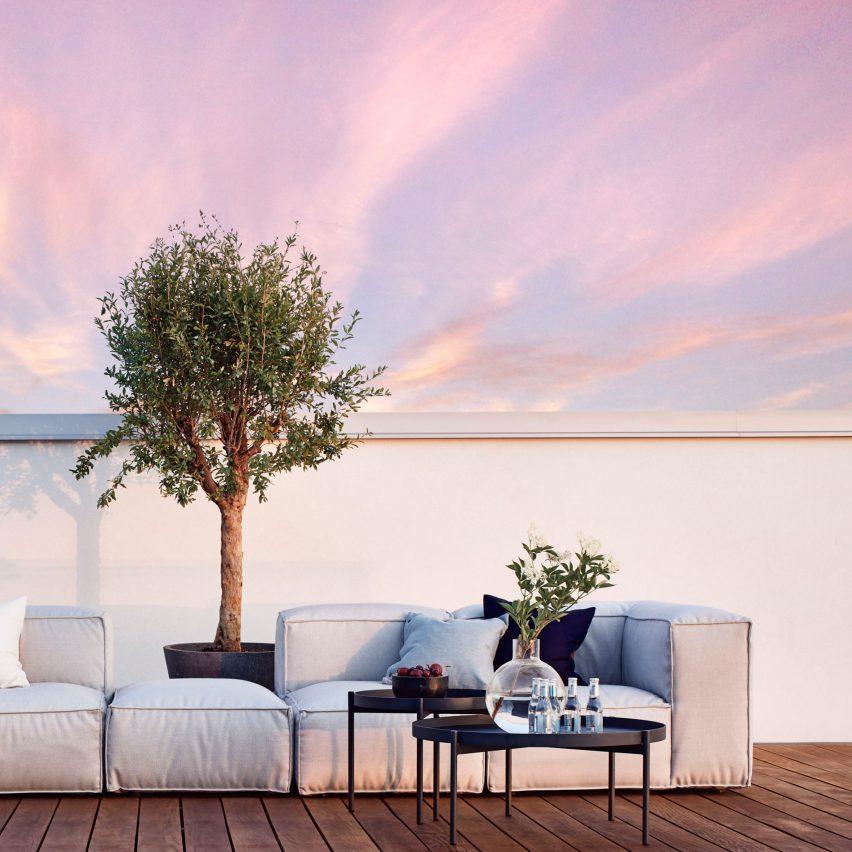 Asker sofa by Martin dos Santos for Skargaarden