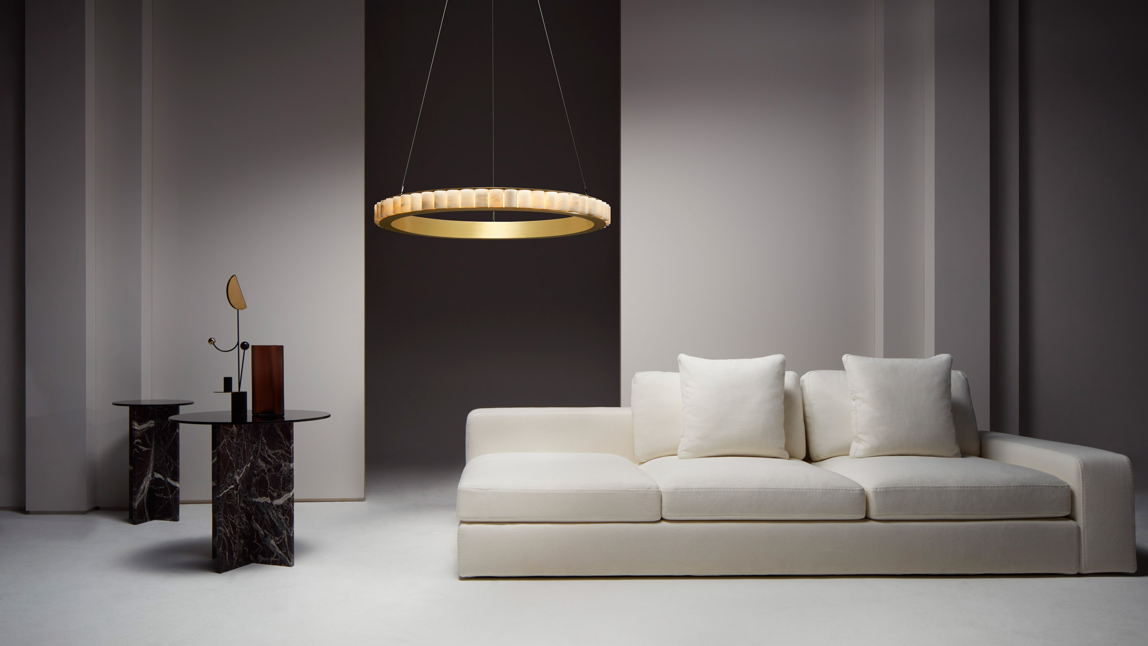 CTO Lighting's chandelier hanging solo