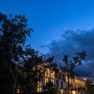 BAI-HA by night in the Tulum jungle
