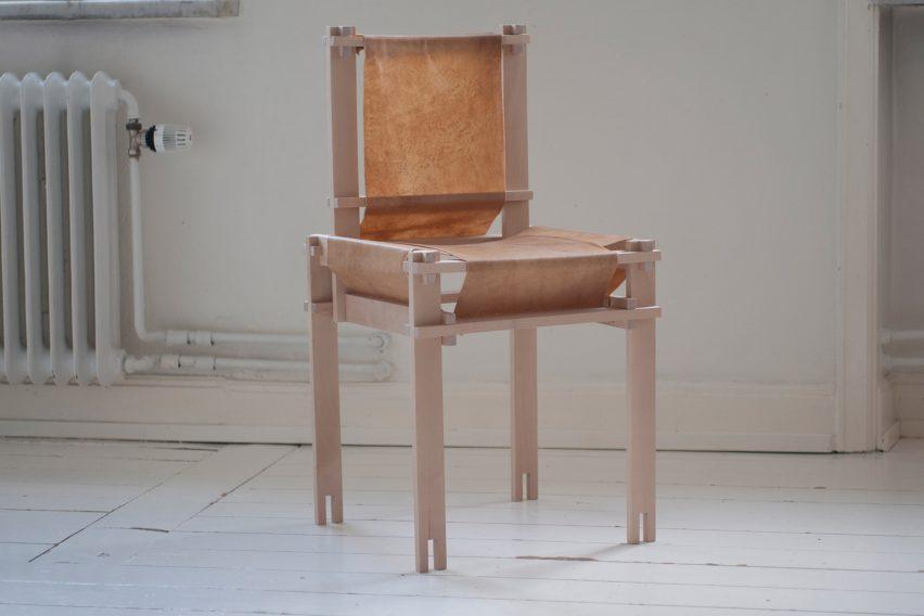Betula chair by Martin Thübeck