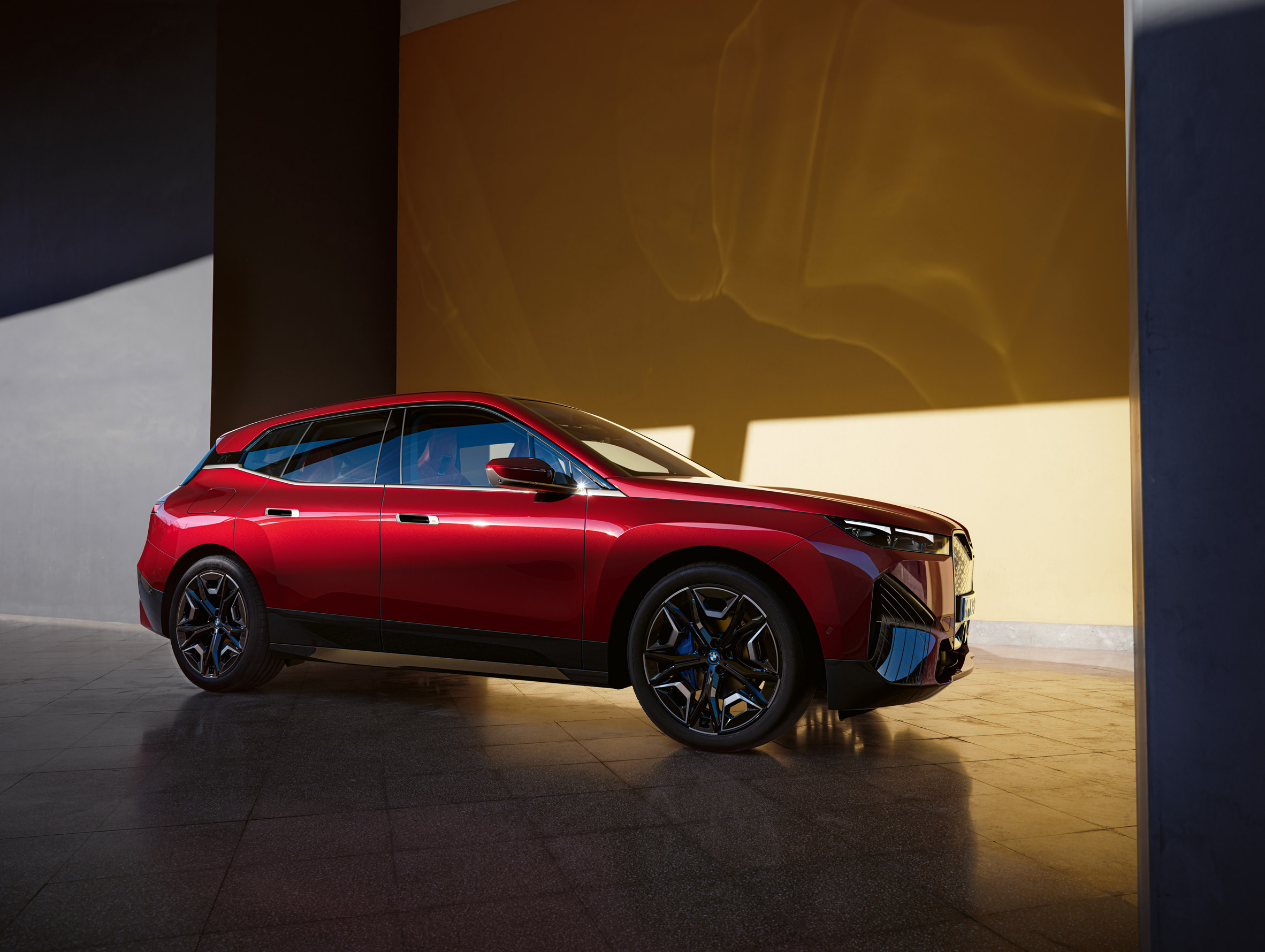 BMW's upcoming fully-electric iX model