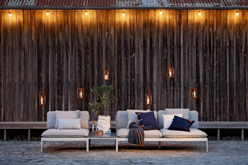 Bonan by Studio Norrlandet for Skargaarden on an outdoor garden deck