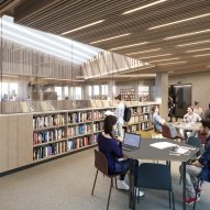 Bristol University library by Hawkins/Brown and Schmidt Hammer Lassen