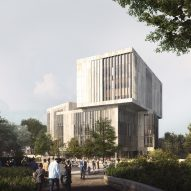 "Hawkins\Brown and Schmidt Hammer Lassen design university library as ""new landmark for Bristol"""