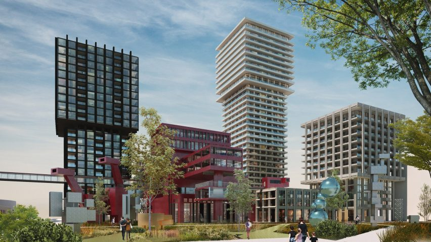 Design for Brutus neighbourhood, Rotterdam