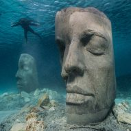 "Jason deCaires Taylor creates Underwater Museum of Cannes ""to draw more people underwater"""