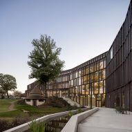 CF Møller Architects designs Carlsberg HQ clad in recycled copper