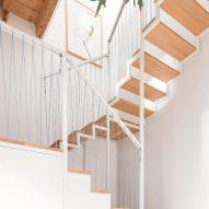Staircase in Casa ai Bailucchi by llabb