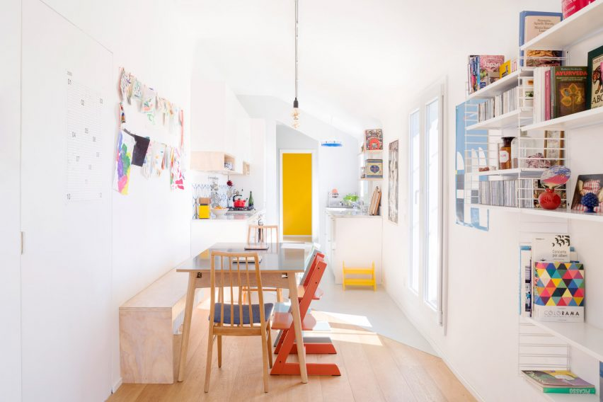 Dining space in Casa ai Bailucchi by llabb