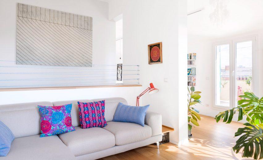 Lounge in Casa ai Bailucchi by llabb