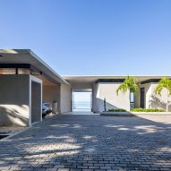 Casa Bell-Lloc's concrete facades