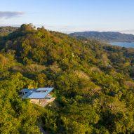 Casa Bell-Lloc by Studio Saxe is on a hillside