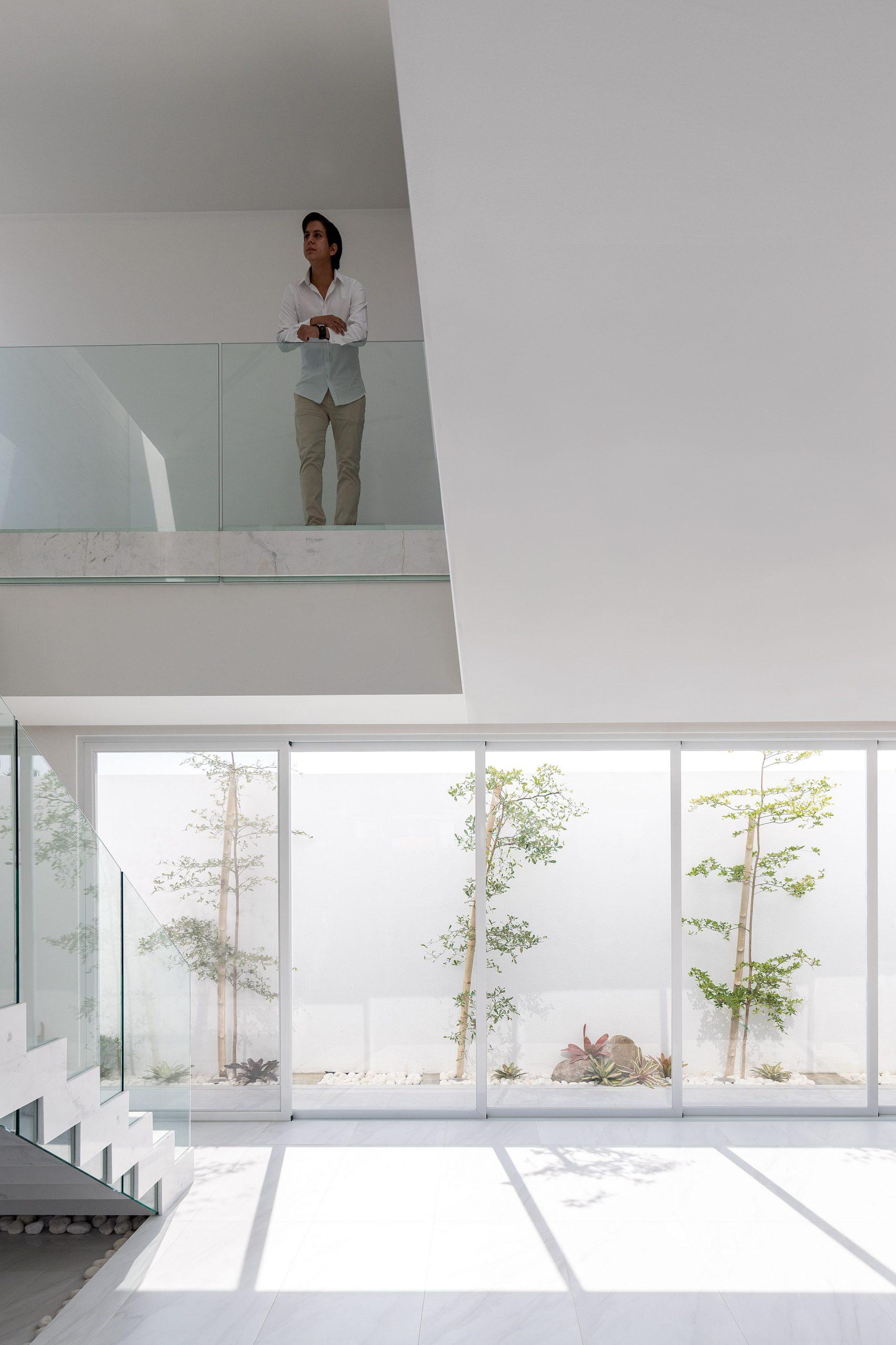Interiors of Mocoli House