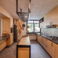 Casa Texcal's kitchen
