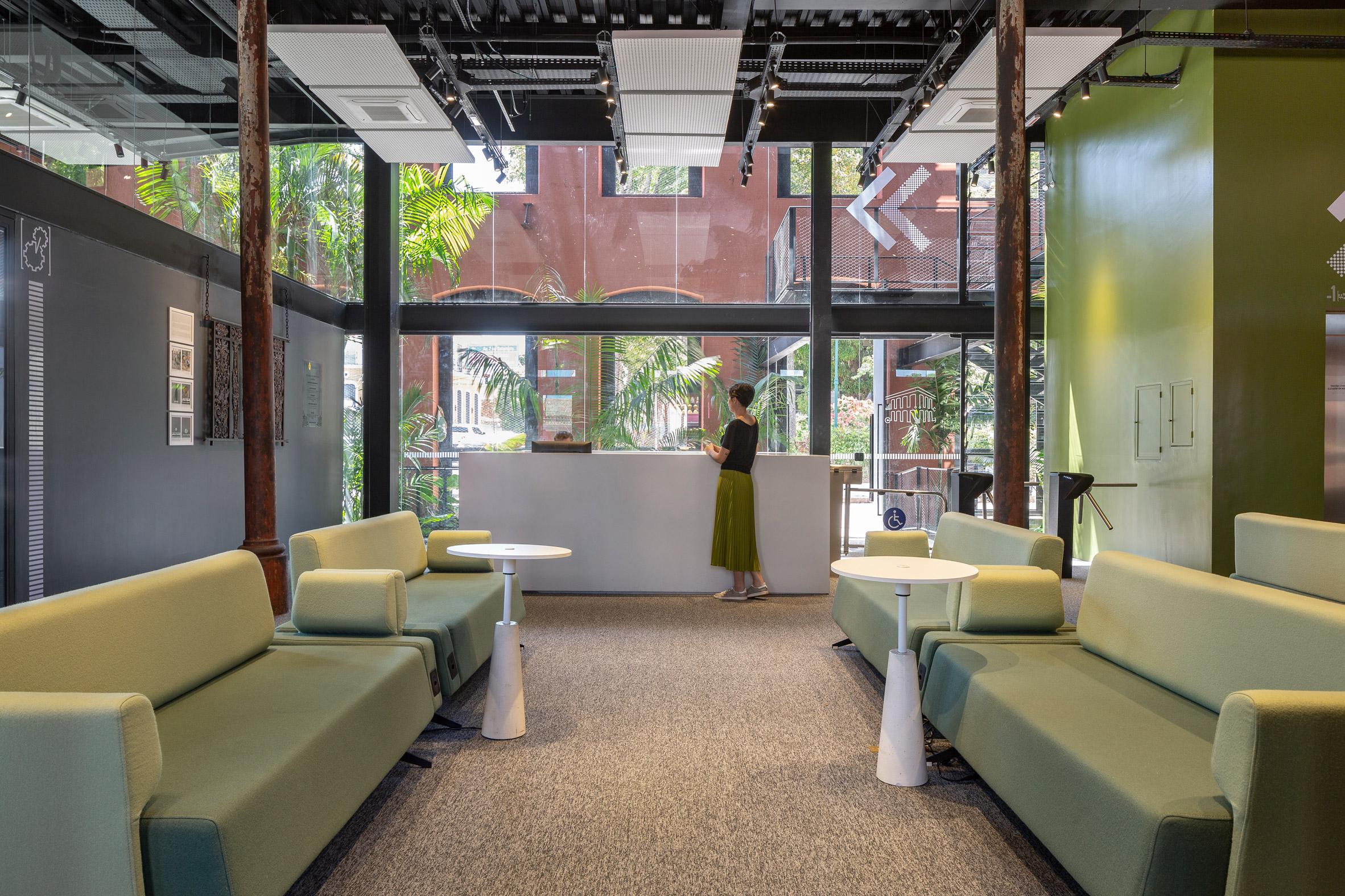 Interiors of Cassina Innovation House