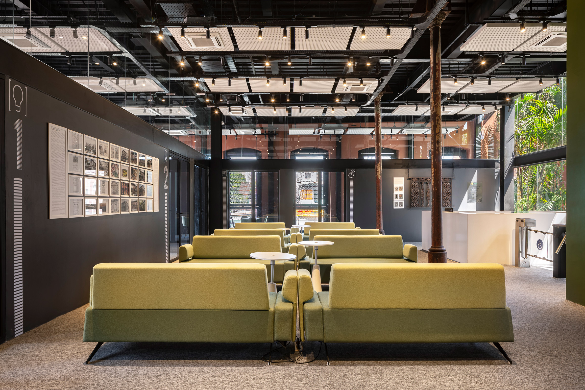 Co-working space in Brazil