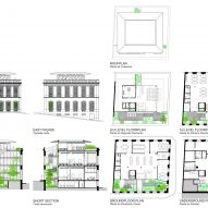 Cassina Innovation House plans