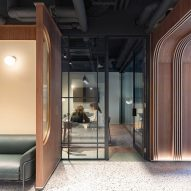 Meeting room in Chapter Old Street by Tigg + Coll Architects