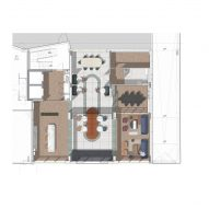 Ground floor plan of Chapter Old Street by Tigg + Coll Architects